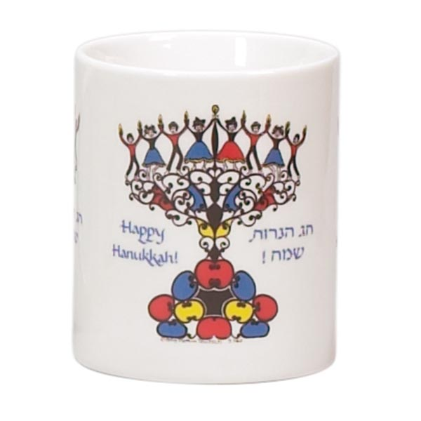 Chanukah Mug (Sold by the Dozen)