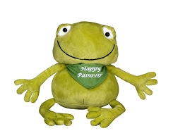 Stuffed Frog Toy