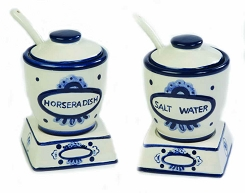 Horseradish and Salt Water Set