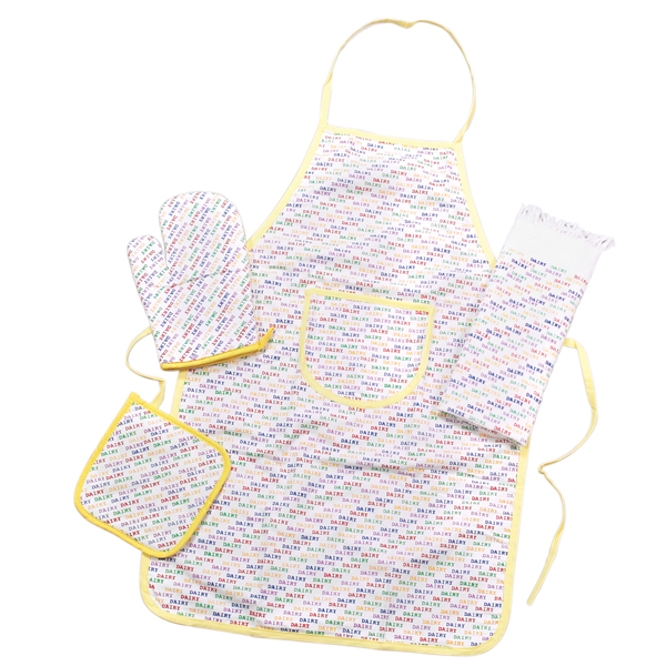 Apron Set (Includes mit, apron, and potholder)