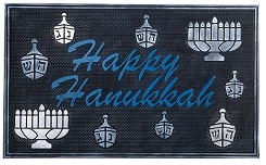 Chanukah Door Mat